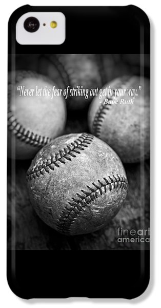 Babe Ruth Quote IPhone 5c Case