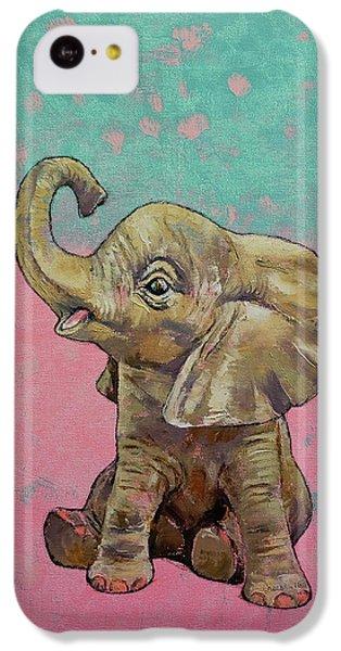 Baby Elephant IPhone 5c Case