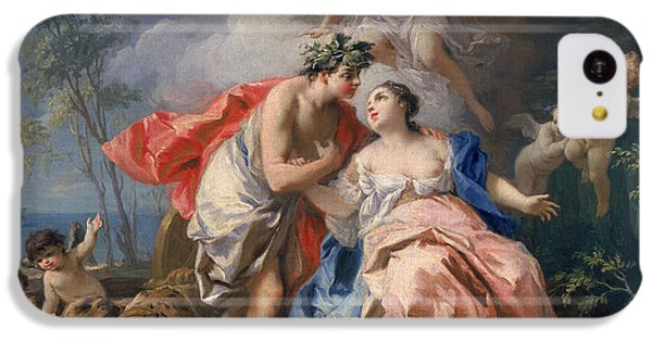 Minotaur iPhone 5c Case - Bacchus And Ariadne by Jacopo Amigoni