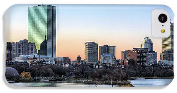 Back Bay Sunrise IPhone 5c Case by JC Findley