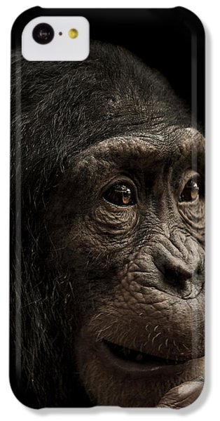 Chimpanzee iPhone 5c Case - Baffled by Paul Neville