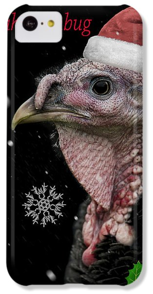 Turkey iPhone 5c Case - Bah Humbug by Paul Neville