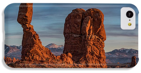 iPhone 5c Case - Balanced Rock Sunset by Dan Norris