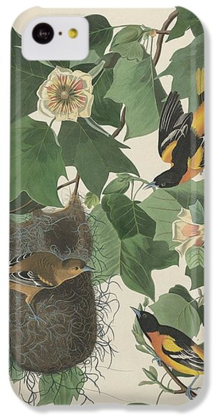 Baltimore Oriole IPhone 5c Case by Rob Dreyer