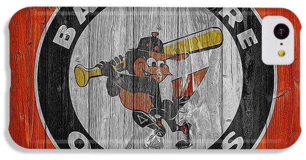 Baltimore Orioles Graphic Barn Door IPhone 5c Case by Dan Sproul