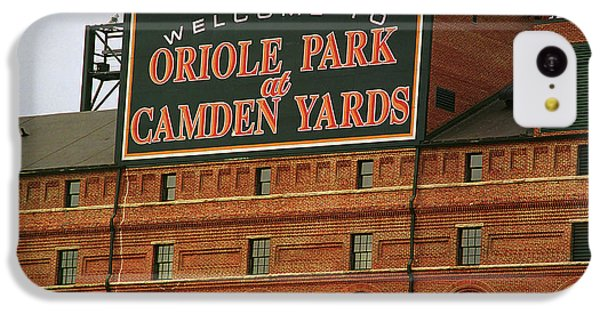 Oriole iPhone 5c Case - Baltimore Orioles Park At Camden Yards by Frank Romeo