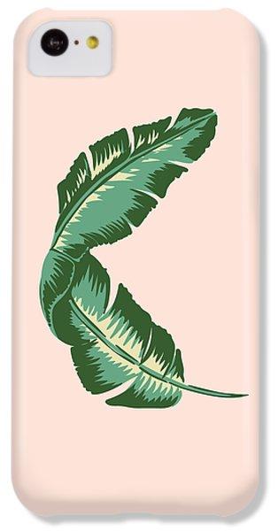 South America iPhone 5c Case - Banana Leaf Square Print by Lauren Amelia Hughes