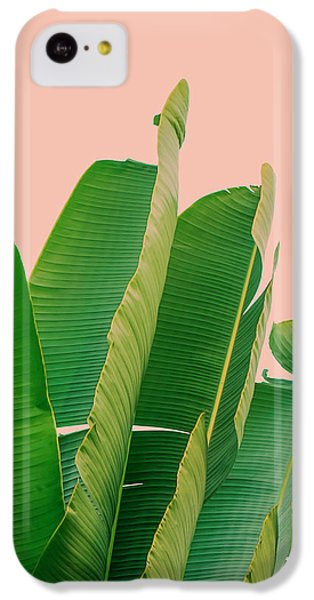 Banana Leaves IPhone 5c Case by Rafael Farias