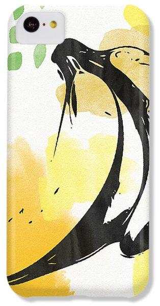 Orange iPhone 5c Case - Bananas- Art By Linda Woods by Linda Woods