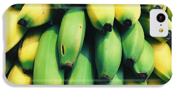 Bananas IPhone 5c Case by Happy Home Artistry