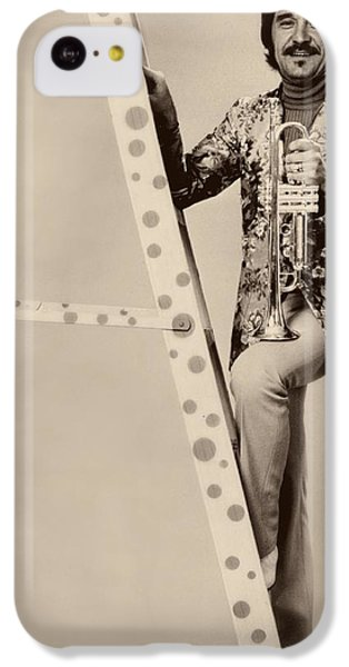 Johnny Carson iPhone 5c Case - Band Leader Doc Serverinsen 1974 by Mountain Dreams
