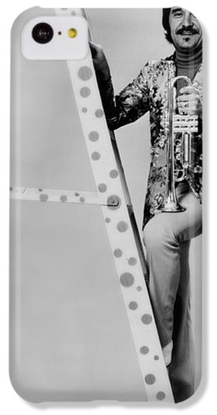 Johnny Carson iPhone 5c Case - Band Leader Doc Severinson 1974 by Mountain Dreams