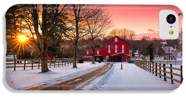 Barn At Sunset  IPhone 5c Case