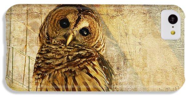 Barred Owl IPhone 5c Case