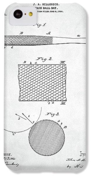 Baseball Bat Patent IPhone 5c Case