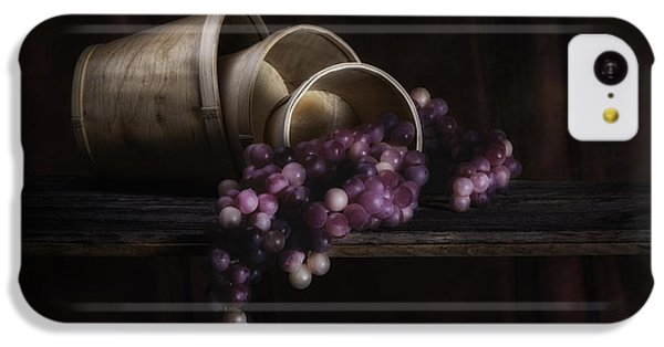 Basket Of Grapes Still Life IPhone 5c Case by Tom Mc Nemar