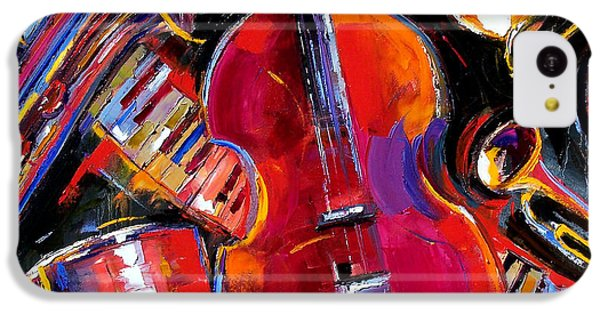 Drum iPhone 5c Case - Bass And Friends by Debra Hurd