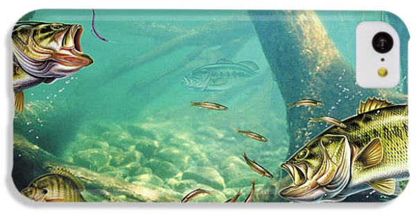 Bass iPhone 5c Case - Bass Lake by JQ Licensing