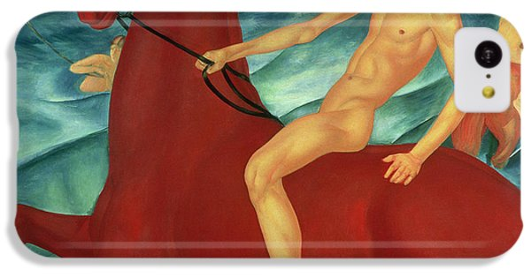 Bathing Of The Red Horse IPhone 5c Case by Kuzma Sergeevich Petrov-Vodkin