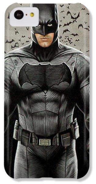 Batman Ben Affleck IPhone 5c Case by David Dias