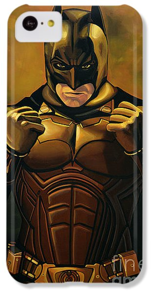 Robin iPhone 5c Case - Batman The Dark Knight  by Paul Meijering