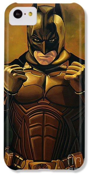 Knight iPhone 5c Case - Batman The Dark Knight  by Paul Meijering