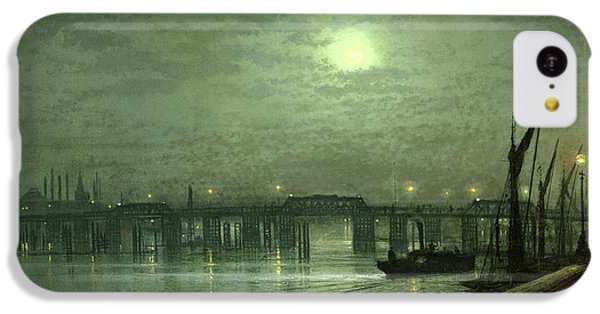 Battersea Bridge By Moonlight IPhone 5c Case by John Atkinson Grimshaw