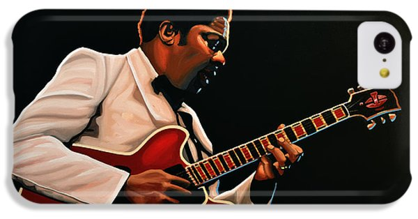 B. B. King IPhone 5c Case by Paul Meijering