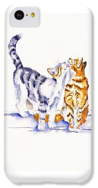 Cat iPhone 5c Case - Be Cherished by Debra Hall