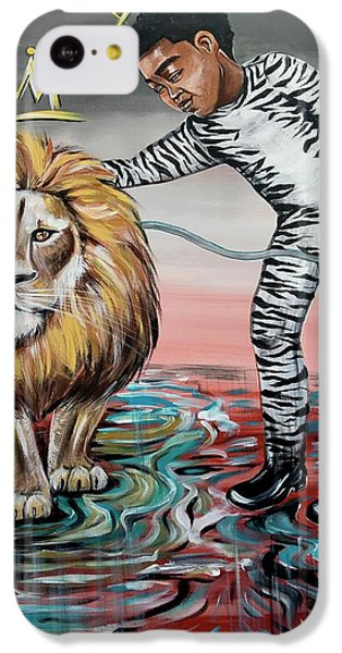 iPhone 5c Case - Be Courageous My Son by Artist RiA