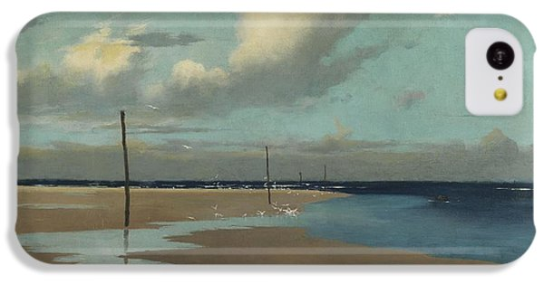 Beach At Low Tide IPhone 5c Case by Frederick Milner