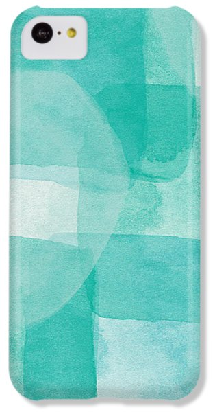 Beach iPhone 5c Case - Beach Glass- Abstract Art By Linda Woods by Linda Woods