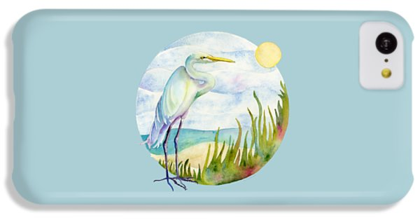 Beach Heron IPhone 5c Case