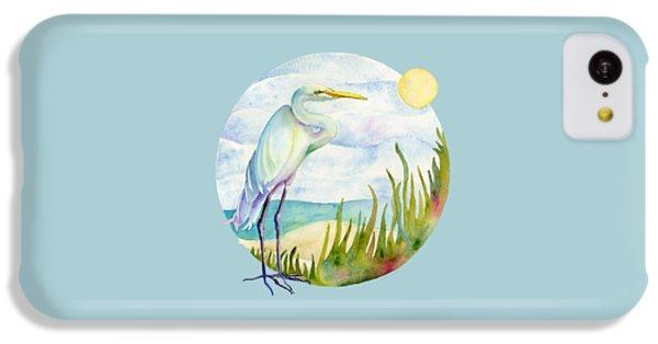 Beach Heron IPhone 5c Case by Amy Kirkpatrick