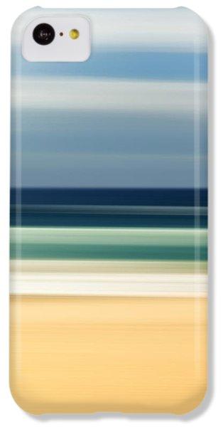 Beach iPhone 5c Case - Beach Pastels by Az Jackson