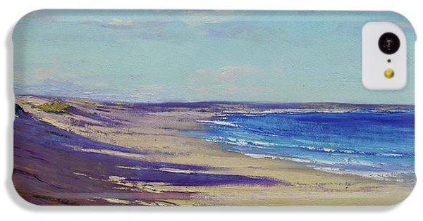 Impressionism iPhone 5c Case - Beach Sand Shadows by Graham Gercken