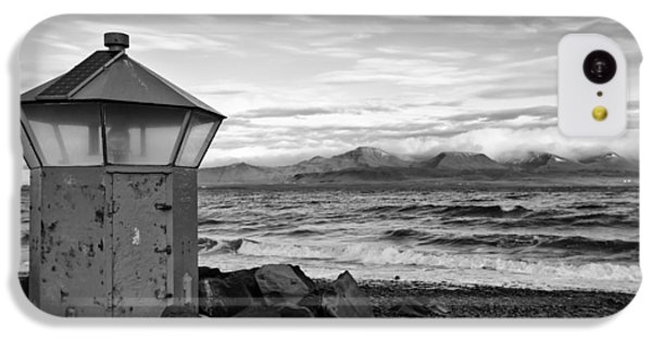 Beacon At Hvaleyrarviti In Iceland Bw IPhone 5c Case