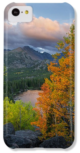 Bear Lake Autumn IPhone 5c Case by Aaron Spong