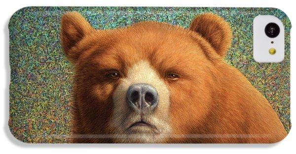 Bear iPhone 5c Case - Bearish by James W Johnson