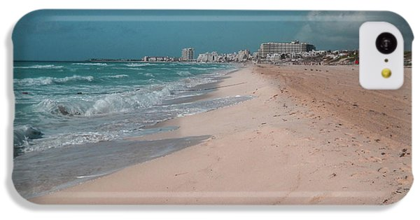 iPhone 5c Case - Beautiful Beach In Cancun, Mexico by Nicolas Gabriel Gonzalez