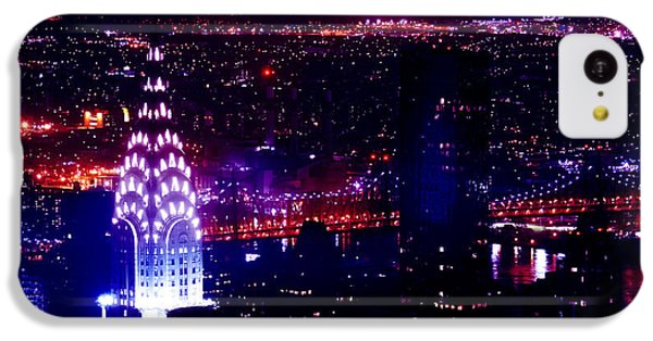 Beautiful Manhattan Skyline IPhone 5c Case by Az Jackson
