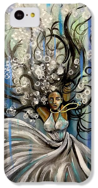 iPhone 5c Case - Beautiful Struggle by Artist RiA