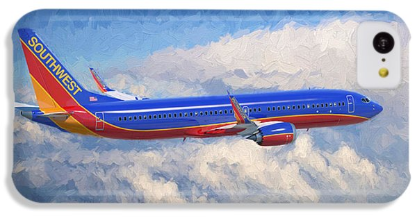 Airplane iPhone 5c Case - Beauty In Flight by Garland Johnson