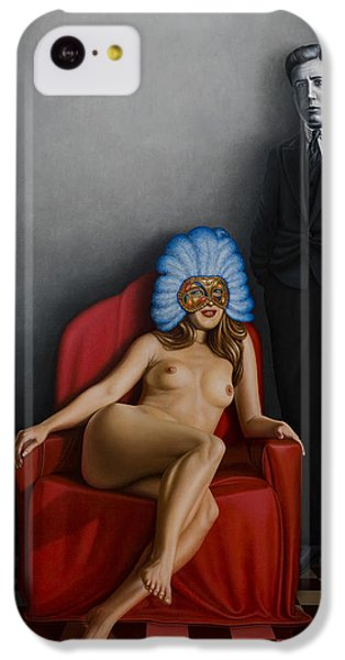 Nudes iPhone 5c Case - Beauty Of The Carnival by Horacio Cardozo
