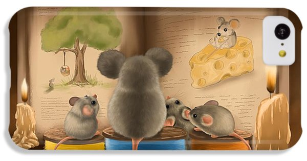 Bedtime Story IPhone 5c Case by Veronica Minozzi