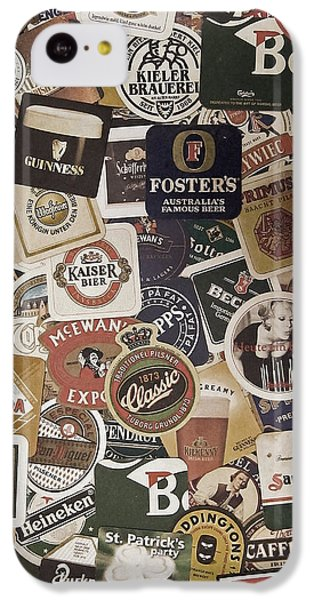 Beers Of The World IPhone 5c Case by Nicklas Gustafsson