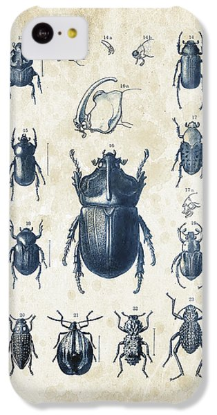 Beetles - 1897 - 02 IPhone 5c Case by Aged Pixel