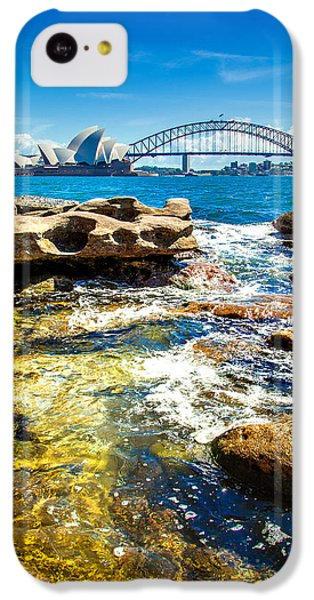 Behind The Rocks IPhone 5c Case
