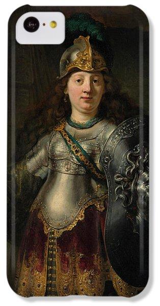 Gorgon iPhone 5c Case - Bellona by Rembrandt Harmenszoon van Rijn