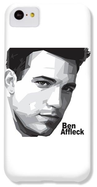 Ben Affleck Portrait Art IPhone 5c Case